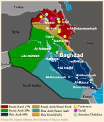 Map Iraq Demographic Maps