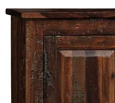 Reclaimed Wood Console Table Pottery Barn Bowry Reclaimed Wood Media Console Pottery Barn