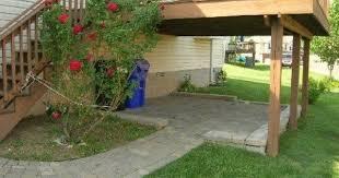 under deck patio google search yard deck u0026 landscaping
