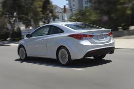 2013 hyundai elantra coupe pounds pavement in style bonus wheels
