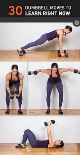 Full Body Dumbbell Workout No Bench 30 Dumbbell Exercises Missing From Your Routine Greatist