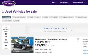 used corvette prices used c7 prices and auction results corvetteforum chevrolet