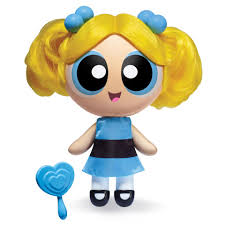 the powerpuff girls 6 inch deluxe doll bubbles toys