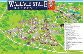 Morgan State University Map wallace state map 2014 by wallace state community college issuu