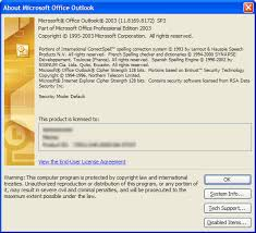 Microsoft Office Outlook Help Desk How To Find Microsoft Outlook Versions With Service Pack Update