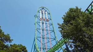 Kingda Kong Six Flags Kingda Ka Zumanjaro Drop Of Doom Off Ride 60fps Six Flags Great