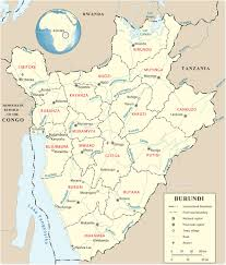 Cameroon Africa Map by Map Of Burundi Travel Africa