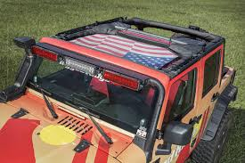 jeep cherokee american flag eclipse sun shade front american flag 07 17 jeep wrangler jk