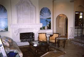 coral stone usa cast stone fireplace