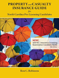 property and casualty insurance for nc pre licensing candidates
