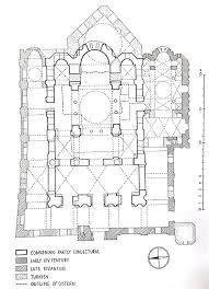 floor plan of hagia sophia byzantine