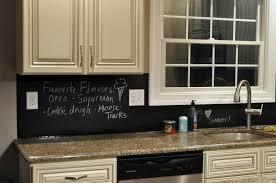 chalkboard backsplash kitchen update chalkboard style east coast creative blog