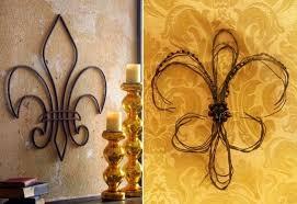 Fleur De Lis Bathroom Decor by Fleur De Lis Wall Decor Ideas Decor We Heart It Decor Fleur