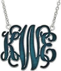 Sterling Silver Monogram Bracelet The 25 Best Sterling Silver Monogram Necklace Ideas On Pinterest