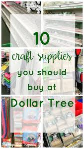 10 craft supplies you should buy at dollar tree average but inspired