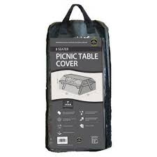 picnic table cover set 8 seater picnic table cover black