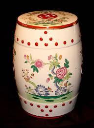 decorative porcelain garden stool home decor signature
