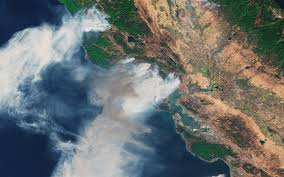 Satellite Map Live This California Wildfire Map Shows Where Fires Rapidly Spread