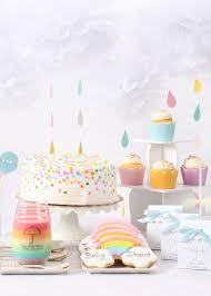 Baby Shower Theme Decorations Best 25 Rainbow Theme Baby Shower Ideas On Pinterest Rainbow