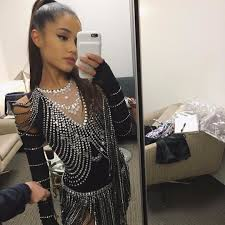 Ariana Grande Costumes Halloween Ariana Grande Wearing Madonna U0027s Rebel Heart Tour Costume