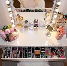 the 25 best ideas about makeup rooms on make up organisation make up storage and makeup tables