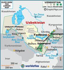 uzbekistan map in world uzbekistan map geography of uzbekistan map of uzbekistan