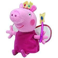 Peppa Pig Plush Ty Beanies Buddy 10 Plush Peppa Pig Princess Peppa Co Uk
