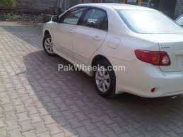 toyota corolla altis sr 1 6 2009 for sale in peshawar pakwheels
