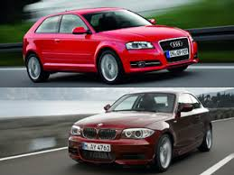 audi a3 vs bmw 1 series comparing the audi a3 and the bmw 1 series car