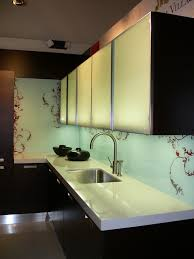 back painted glass kitchen backsplash 29 best glass backsplashes images on kitchen ideas