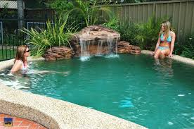 Backyard Waterfalls Ideas Garden Design Garden Design With Backyard Waterfall Design Ideas