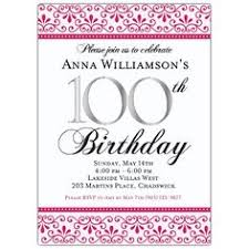 100th Birthday Card 100th Birthday Invitations Marialonghi Com