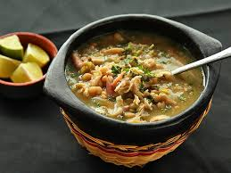 thanksgiving leftovers white chili with roast turkey or chicken