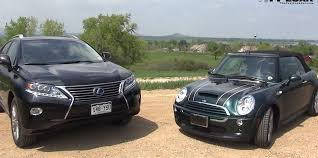 lexus rc models comparison weird comparison 2008 mini cooper s convertible vs 2013 lexus rx