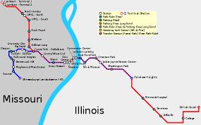 stl metro map st louis travel guide at wikivoyage