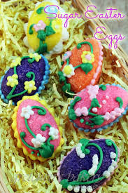 sugar easter eggs sugar easter egg decorations gretchen s bakery