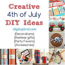 Diy Fourth Of July Ideas Diyinspired Com