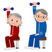 Armchair Aerobics For Elderly Elderly Hunting Cliparts Cliparts Zone