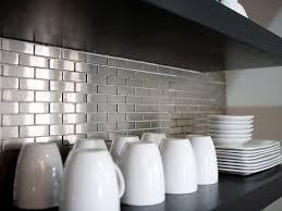 metallic kitchen backsplash stainless steel kitchen backsplash family handyman intended for