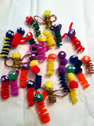 easy pipe cleaner crafts the boys created angels bumble bees