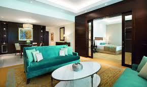 Livingroom Club Family Suite In Dubai The Ritz Carlton Dubai
