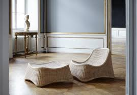 sessel mit hocker design rattan sessel chill mit hocker design by nanna ditzel