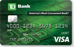 free debit cards debit cards benefits of personal visa debit card td bank