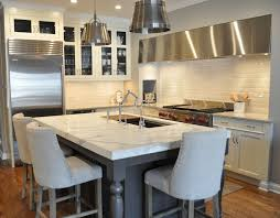 custom cut stainless steel backsplash mother of pearl kitchen modern with shell tile polished mosaic