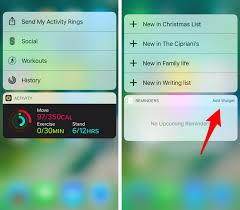 widgets in ios 10 notifications streaming videos 3d touch and