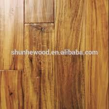 cheap handscraped black walnut stain small leaf acacia wood