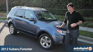 blue subaru forester 2009 2012 subaru forester xt test drive u0026 crossover suv review youtube