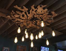 Chandelier Covers Sleeves Handmade Extra Large Live Edge Olive Wood Chandelier Rustic And