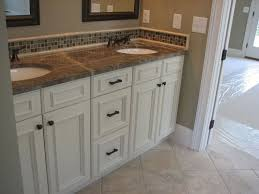 Best White Bathroom Cabinet Images On Pinterest White - White cabinets bathroom design