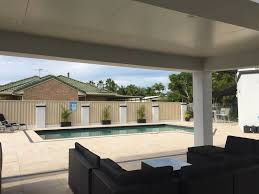 feature free standing patio custom design